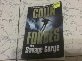 the savage gorge colin forbes 英文版