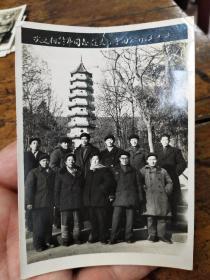 1963年灵谷寺合影照片