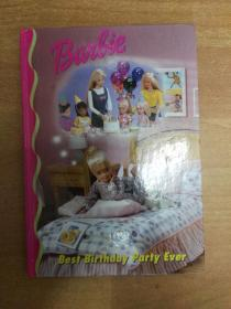 Barbie: Best birthday party ever(英文版儿童读物)