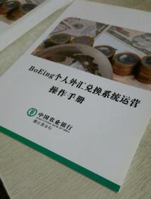 BoEing个人外汇兑换系统运营操作手册