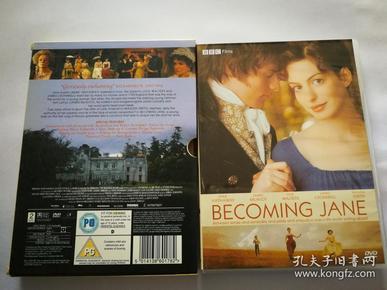成为简奥斯丁。英国BBC出品。珍藏版DVD。