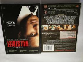 华尔街。珍藏版DVD。双碟装。