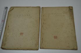 文革时期 翁自勉 手写钞本 两册合售!懂行的捡漏吧!