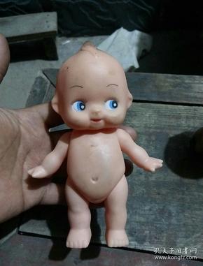 丘比塑料老玩具娃娃