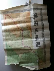 淮河流域图一套2张