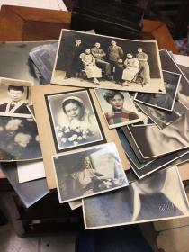 百乐门歌手金妮(活跃于1939-1952年)老照片一批,大小不一