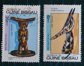 几内亚比绍邮票----艺术品(盖销票)