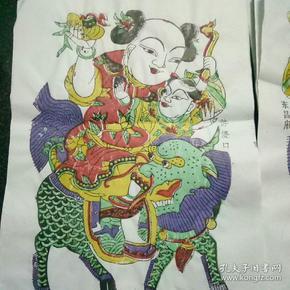 东昌府年画 2张