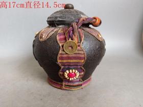 乡下收的原封老茶罐