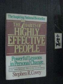 英文原版 THE 7 HABITS OF HIGHLY EFFECTIVE PEOPLE
