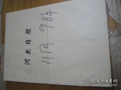 (生日报)河北日报1998年11月17日