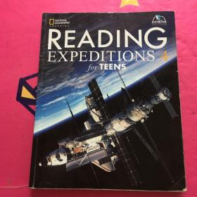 READING EXPEDITIONS for TEENS【如图,实图拍摄】
