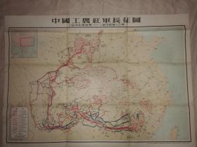 中国工农红军长征图((1934年8月-1936年10月))