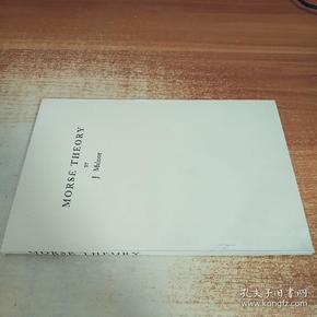 MORSE THEORY (MORSE理论, 英文版,国内影印版)