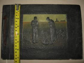 日本《老旧空白相册》1册 已使用 1936年(内标注昭和11年和12年)