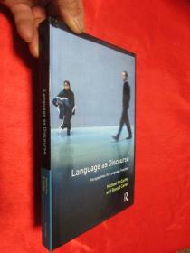 Language As Discourse: Perspectives For Language Teaching    锛堝ぇ32寮�锛岀‖绮捐锛� 銆愯瑙佸浘銆�