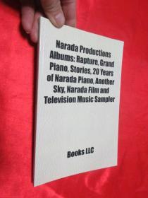 Narada Productions Albums:Rapture,Grand Piano,Stories,20 Years....  锛堝皬16寮�锛� 銆愯瑙佸浘銆�