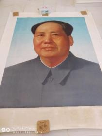 毛主席巨幅画像