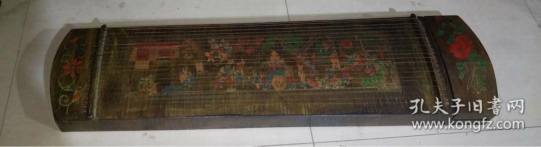 漆器古筝,长1米18,宽33厘米代理转图可以加价,运费自理。