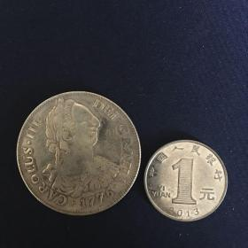 外国硬币 50