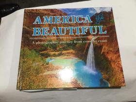 america beautiful  (12开精装英文原版.见图)