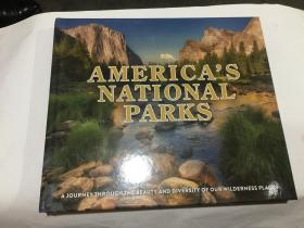 americas national parks  (12开精装英文原版.见图)