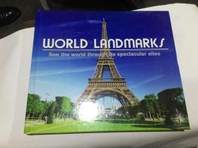 world landmark (12开精装英文原版.见图)