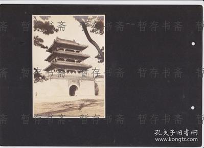 民国原版照片 【奉天北陵】一张