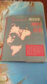 hammond's universal world atlas 世界地图集 英文版 1950年出版 精装 8开