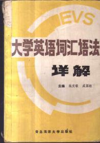 大学英语词汇语法详解(二手书)