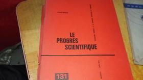 LE  PROGRES  SCIENTIFIQUE