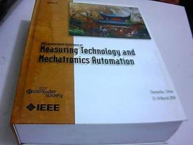 2010 lnternational  Conference  on  Measuring  Technology  and  Mechatronics  Automation  ICMTMA 2010  英文版    精装  品好 如图