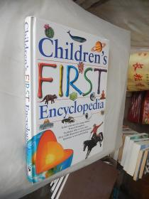 Children's First Encyclopedia 英文原版精装