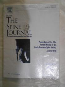 the spine journal  2018-08 vol 18 英文原版