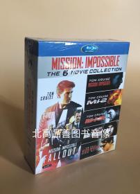 精装BD 碟中谍(1-6)25GB蓝光高清1080 国粤语配音完整版 6碟