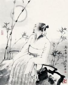 徐宁国画人物《高士图》