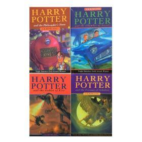 哈利波特老版英文版全套全集7册七册加被诅咒的孩子英文版共8册