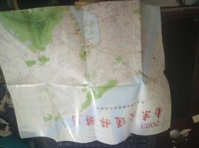 2003南京交通旅游图