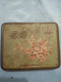 天津太极牌香烟铁盒