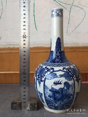 1200青花长颈瓶