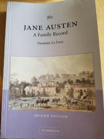 Jane Austen, a family record