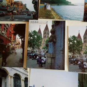 诗意青岛(第9届奥运会帆船比赛城市) 明信片.一套10张全