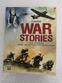 USBORNE WAR STORIES TRUE STORIES FROM THE FIRST&SECOND WORLD WARS