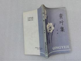 青叶集 孙峤著 香港文学报出版公司 1992年1版1印