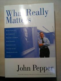 What Really Matters 真正重要的是什么