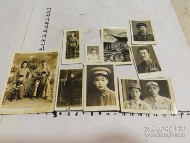 解放军赠咸阳医院院长赵志昇9张(解放前后)