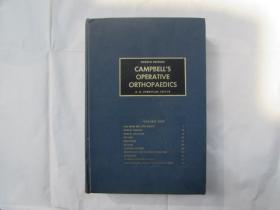 CAMPBELLS OPERATIVE ORTHOPAEDICS(坎贝尔整形外科)