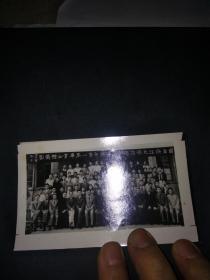 1949年5月国立浙江大学法学院法律学系第一届毕业全体摄影(尺寸12*7.5CM)民国三十八年的(翻拍)。