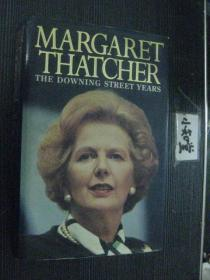 英文原版 MARGARET THATCHER THE DOWNING STREET YEARS 精装铜版插图