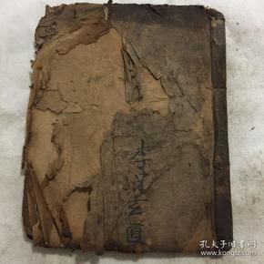 清光绪年宗教手抄本:玄门造关